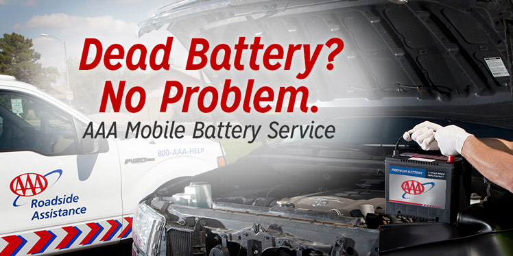 AAA car battery replacement